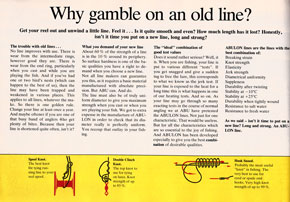 Why gamble on old lines?